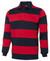 JB's Wear Navy/Red Striped Rugby