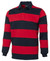 JB's Wear Navy/Red Striped Rugby