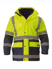 Bisley Taped Hi Vis 5 in 1 Jacket