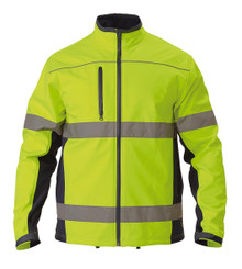 Bisley Soft Shell Jacket with 3M Reflective Tape