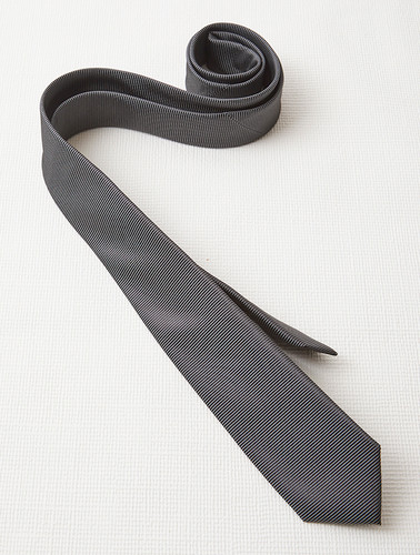 Mens Slim Plain Tie
