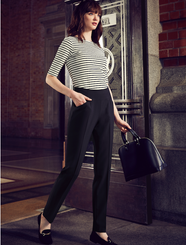 Bandless Slim Leg Pant