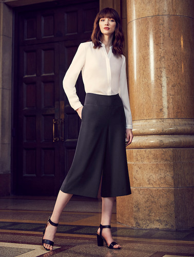Womens Mid Length Culotte
