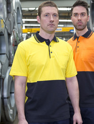 100% Cotton Hi Vis S/S Polo