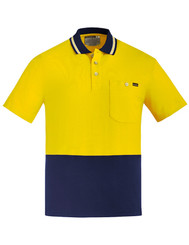 Unisex 100% Hi Vis Cotton Polo
