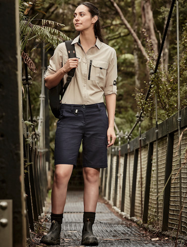 Womens Vented Shorts