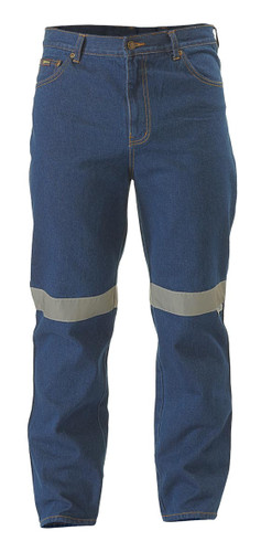 Bisley Rough Rider Jeans 3M Reflective Tape