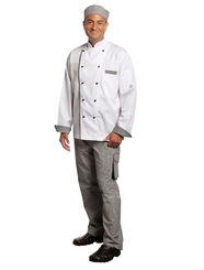 Executive Chefs L/S & S/S Vented Jacket