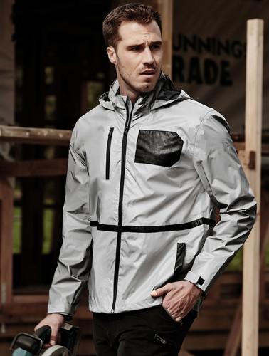 Unisex Streetworx Reflective Waterproof Jacket