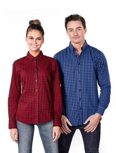 Mens & Ladies Barrett Plaid Shirt
