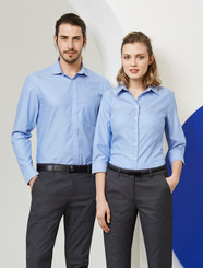 Mens & Ladies 100% Cotton Regent Shirt