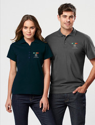 AGD Mens & Ladies Pique Polo