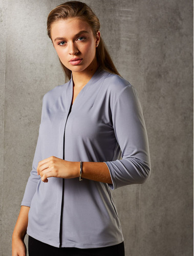 Isabel 3/4 Sleeve Stretch Top