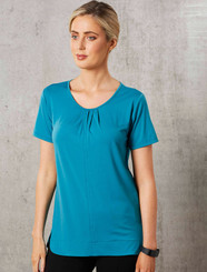 Julia Short Sleeve Stretch Top