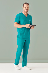 Mens Multi Pocket Scrub Pant