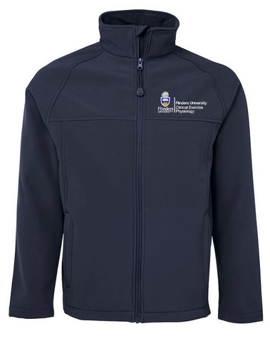 Mens Clinical Exercise Physiology Softshell Jacket
