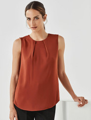 Estelle Pleat Blouse