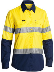 Ladies Hi Vis Taped X-Airflow Ripstop Shirt