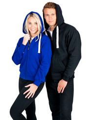 Heavy Weight Zippered Hoodie