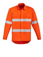 HRC 2 Orange Hoop Taped Open Front FR Shirt