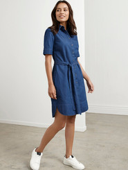 Delta Denim Dress