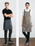 Unisex Urban Bib Apron Co-ordinates with Urban 1/2 Waist Apron