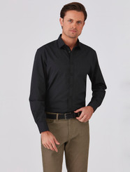 Mens Expresso 100% Cotton Shirt