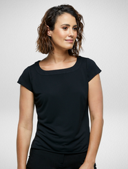 Black Caprice Knitted Top
