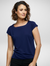 Navy Caprice Knitted Top