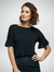 Black Belle Knitted Top
