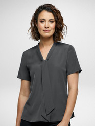 Charcoal Willow Blouse