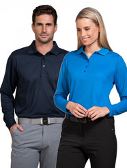 Sporte Leisure Mens & Ladies L/S Aero Polo