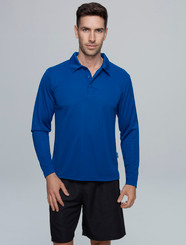 Botany Long Sleeve Polo