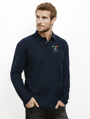 AGD Mens & Ladies L/S Pique Polo
