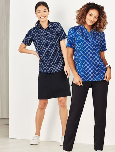 Florence Stretch Daisy Print Shirt & Tunic