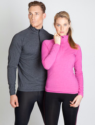Mens & Ladies Greatness Half Zip Tee