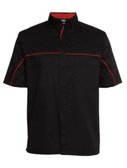 Black/Red Team Crew Shirt