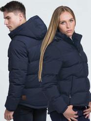 Terrain Navy Puffa Jacket