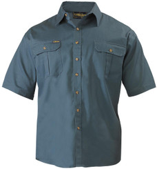 Bisley Original Cotton Mens Short Sleeve Drill Shirt