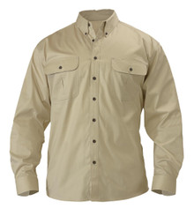 Bisley Mini Twill Long Sleeve Shirt