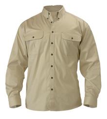 Bisley Mini Twill Long Sleeve Shirt