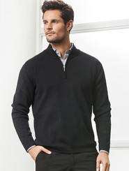 Needle Out Mens 1/2 Zip Pullover