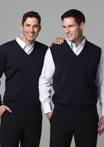 Biz Collection Woolmix Mens L/S Pullover