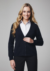 Biz Collection Cardigan Button Thru Woolmix