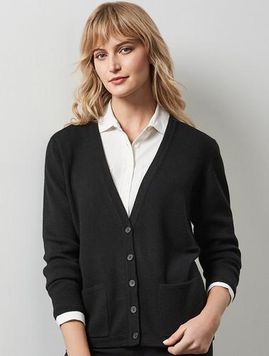 Biz Collection Cardigan Button Thru Woolmix