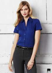 Metro Ladies S/S Stretch Shirt