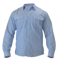 Bisley Mens Oxford Long Sleeve Shirt