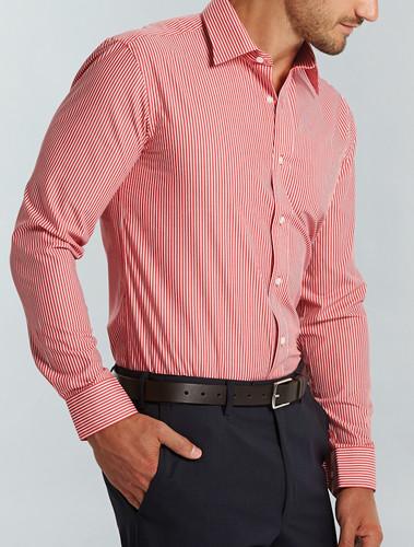 Gloweave Mens L/S Bold Stripe Shirt