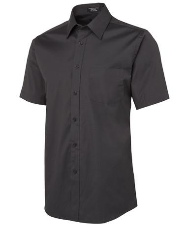 JB's Wear Urban S/S Charcoal Poplin Shirt