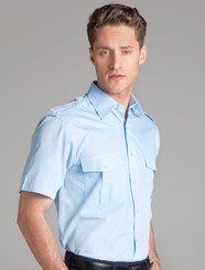 JB's Wear Epaulette Short Sleeved Shirt